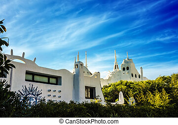Casapueblo Punta del Este Uruguay - A view of the Casapueblo...