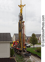 Geothermal Drilling - Geothermal heat system in the...