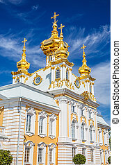 Church in Peterhof, St Petersburg
