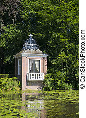 Little teahouse near landhouse - Little teahouse at the...