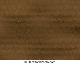 Brown leather vector background