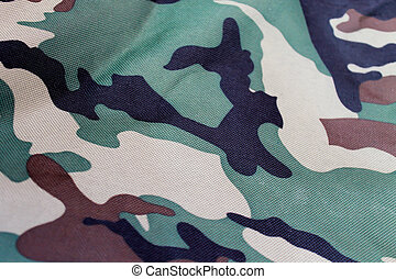 Military fabric pattern