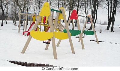 playground wait summer