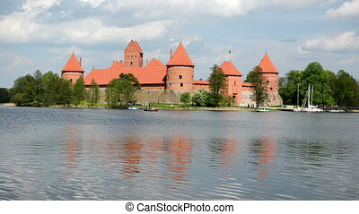 trakai castle galve lake