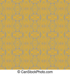 1930 art deco floral vector seamless pattern - 1930s...
