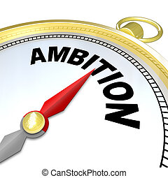 Ambition - Gold Compass Directions to Enterprising People