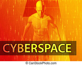 Cyberspace illustration
