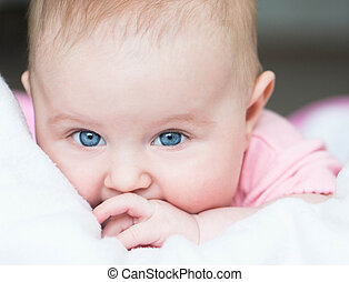 three month old baby - adorable three month old baby...