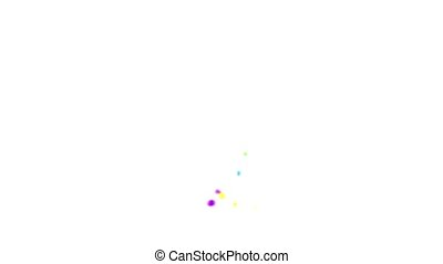 Colorful Stars. - Colorful Stars with dynamic motion.