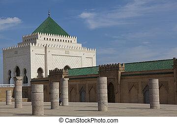 Mohamed V Mausoleum, Rabat, Morocco