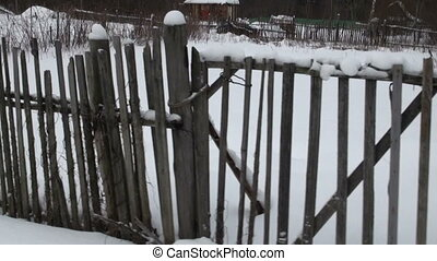 The old fence