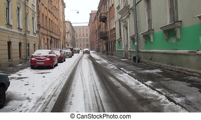 Old street in St. Petersburg