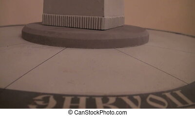 Models of monuments to the founder of Russia Rurick
