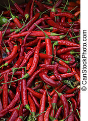 Red Cayenne Peppers - Spicy Hot Red Cayenne Peppers