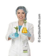 Botanist or Agricultural scientist