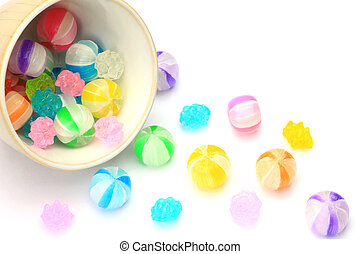 candy - I took candy in a white background.