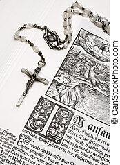 rosário, bíblia
