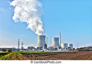 nuclear power - A photography of nuclear power in Germany...