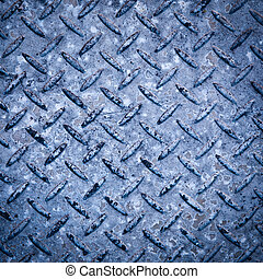Checkerplate Background - Background texture of checkerplate...