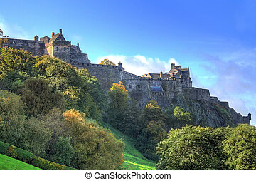 Edinburgh - A hdr photography of the castle of Edinburgh