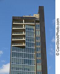 West side New York building - Modern west side loft building...