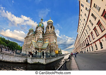Church of the Savior on Spilled Blood in Saint-Petersburg
