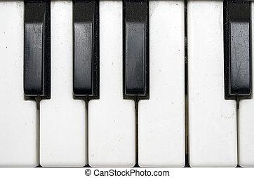 Dirty Plastic Keyboard