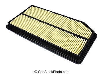 the air filter