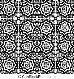 islamic pattern - Vector of pattern in islamic design