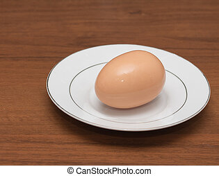 egg in a dish