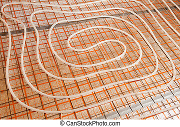 water floor heating