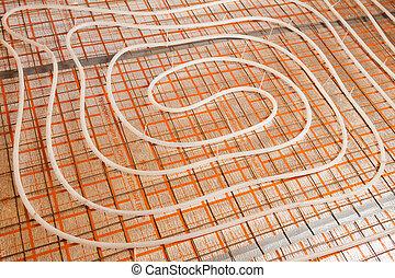 water floor heating
