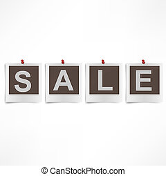 Collection of four  instant sale photographs.