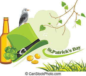 Congratulation with Patrick's Day