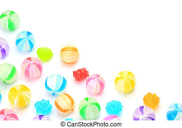 candy - I displayed candy and took it in a white background.
