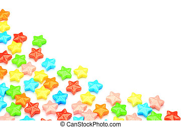 candy - I displayed candy and took it in a white background