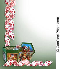 Christmas decorations Border - Image and illustration...