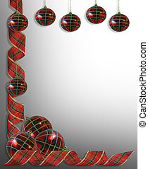 Christmas decorations Border Ribbon - Image and illustration...