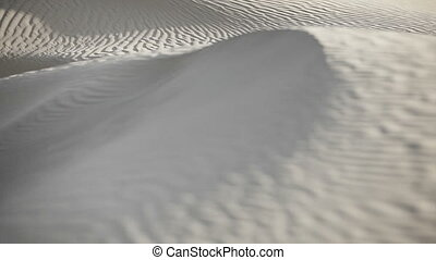 dunes in the Indian sandy desert - 1920x1080 video - Sand...