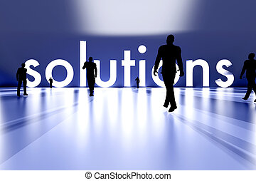 Walking towards the Solution - Walking towards the business...