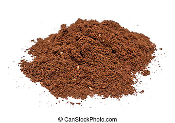 Coffee Powder - Details Of Coffee Powder Pile