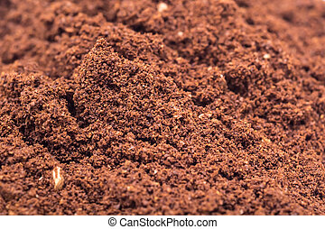 Coffee Powder - Details Of Coffee Powder Pile