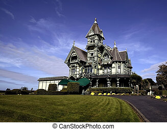 Carson Mansion - 1886 Victorian Mansion in the town of...