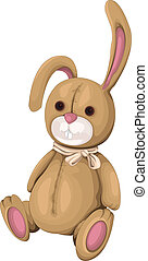 Plush Bunny vector