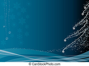 christmas decoration_blue - blue christmas decoration. FIND...