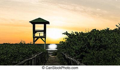 Way to Sunset Beach