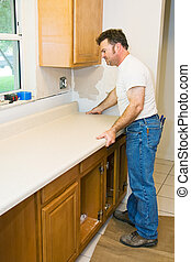 Contractor Remodeling Kitchen - Contractor remodeling...