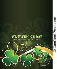 saint patrick's day design - happy saint patricks day vector...