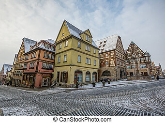 Rothenburg ob der Tauber, Germany - Rothenburg ob der Tauber...