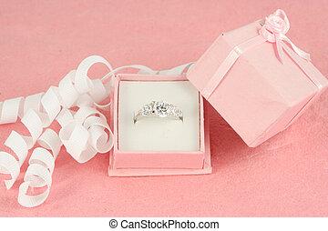 fidanzamento, diamante